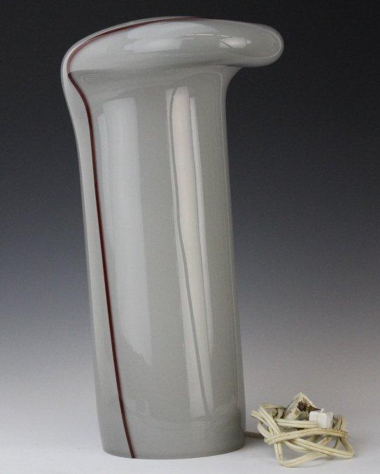 Murano Italian Mid Century Modern Art Glass Lamp