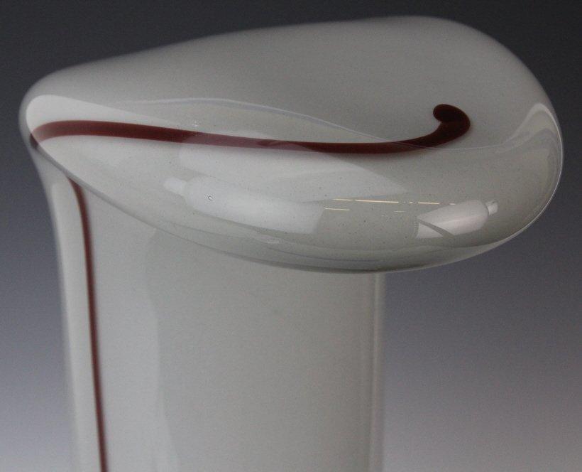 Murano Italian Mid Century Modern Art Glass Lamp - 2