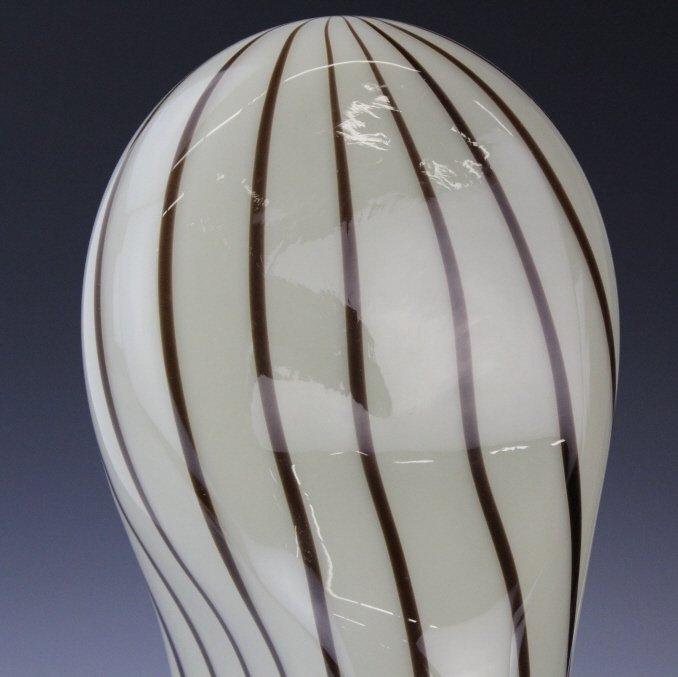 Murano Italian Art Glass Mid Century Modern Lamp - 3