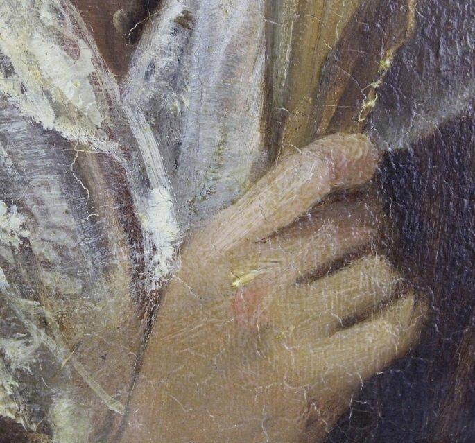 JOHN PHILLIP Spanish Girl Portrait Oil Painting - 3