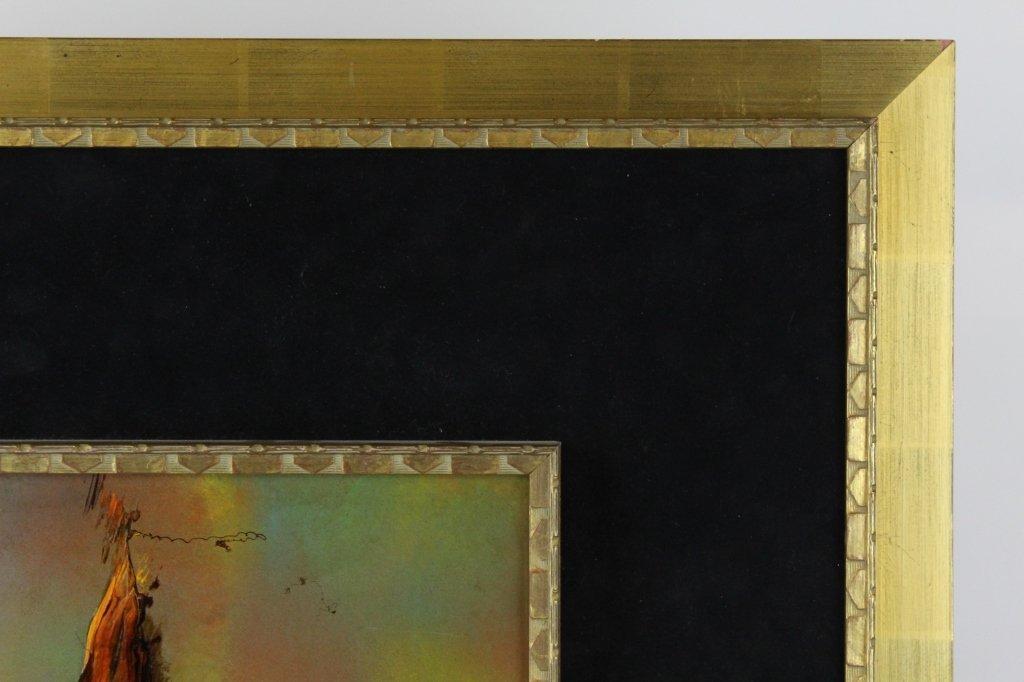 LEONARDO NIERMAN Abstract Landscape Oil Painting LISTED - 3