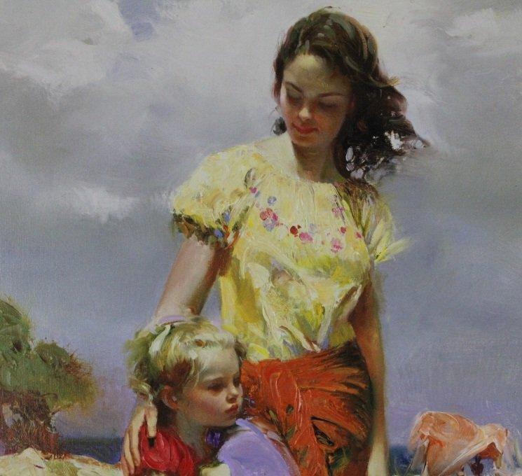 Giuseppe Pino Family Retreat L/E Giclee On Canvas - 2