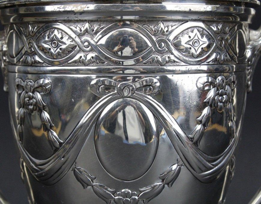 Antique Sterling Silver Belle Epoque Trophy Urn 1587g - 2