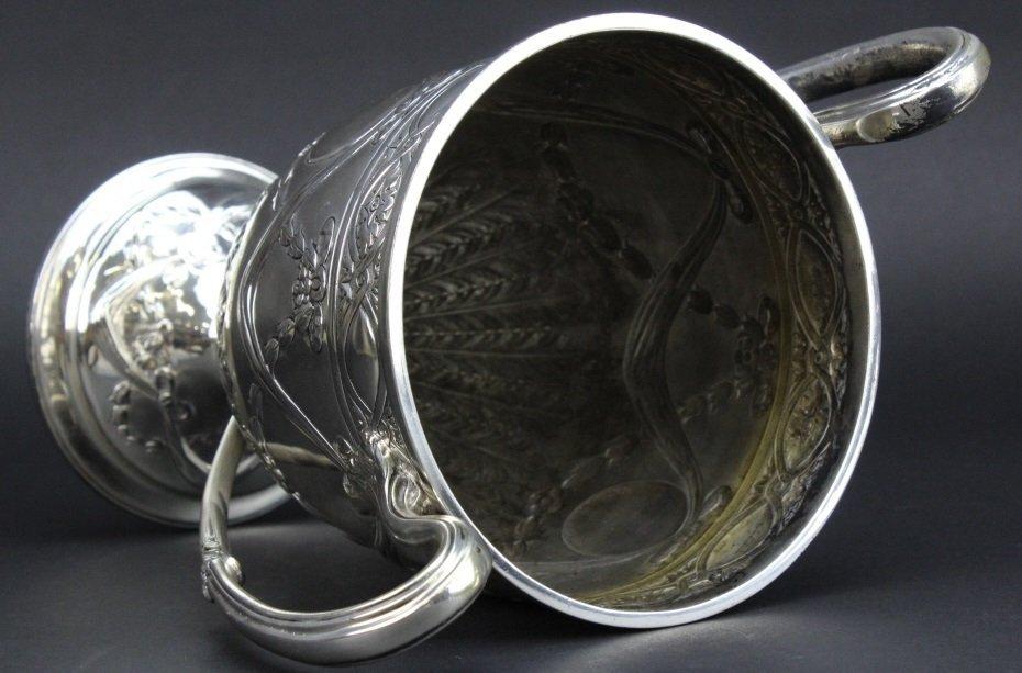 Antique Sterling Silver Belle Epoque Trophy Urn 1587g - 9