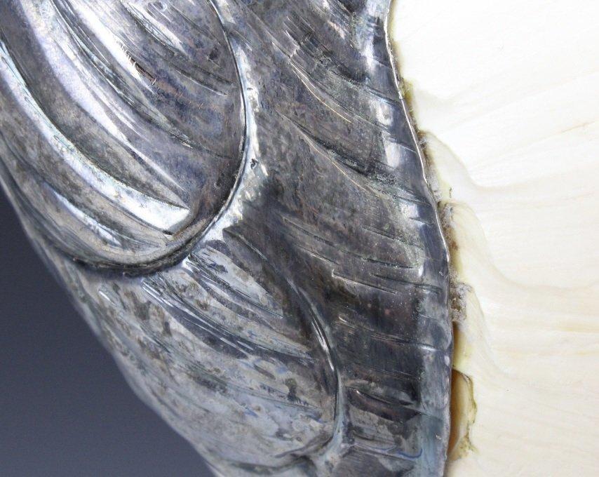 Binazzo Foresto Italian Bird w Shell Modern Statue - 6