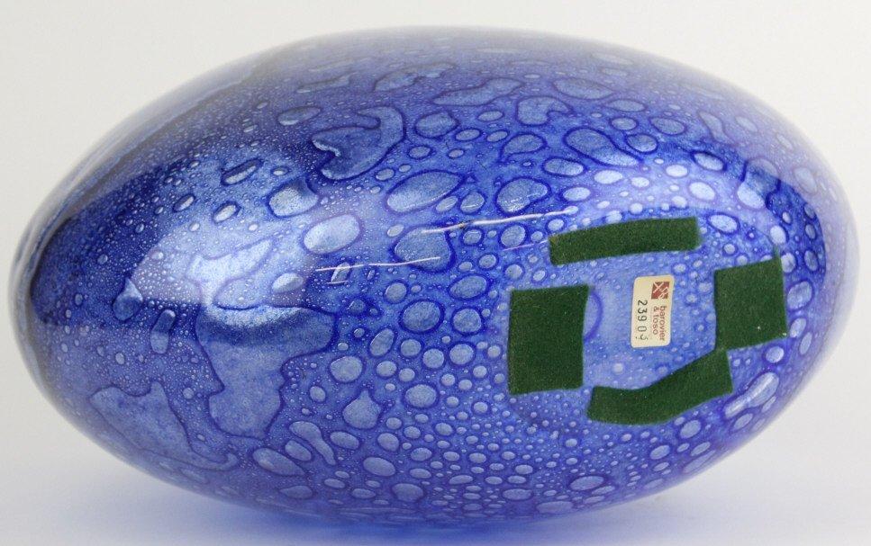Signed Murano Barovier Toso Blue Efeso Glass Vase - 7