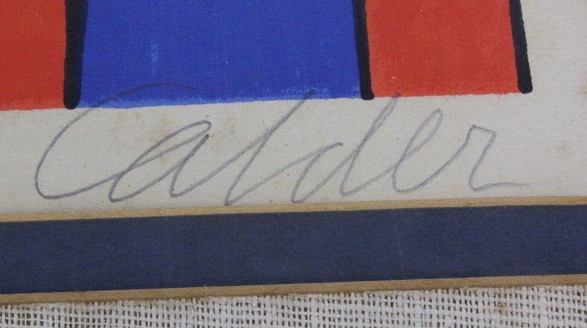 Pencil Signed Alexander CALDER L/E Screen Print - 5
