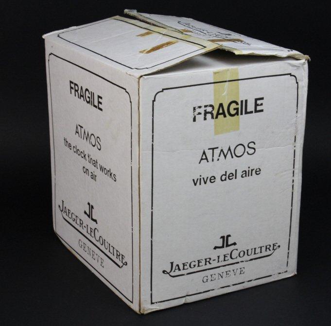Vintage 70's NOS LeCoultre Atmos Clock in Original Box