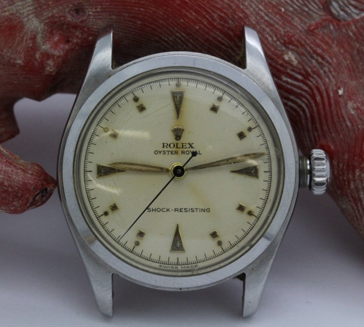 Mens ROLEX Circa '52 Stainless Steel Oyster Royal Watch
