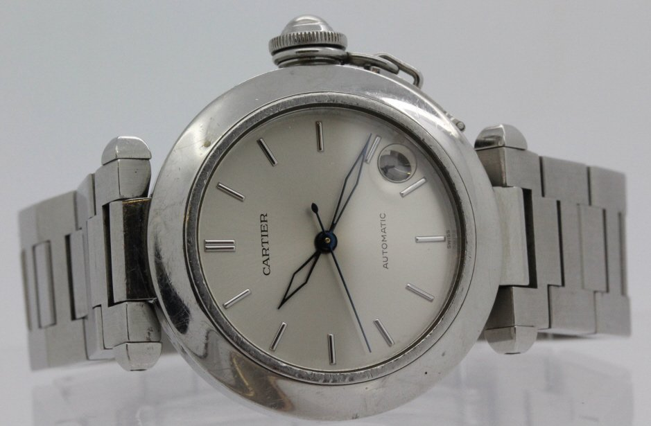 Cartier Pasha C Stainless Steel Automatic Wrist Watch