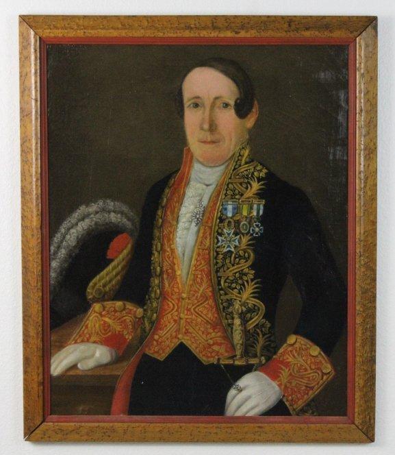 Circle of Goya Portrait Joseph Bonaparte Oil Painting