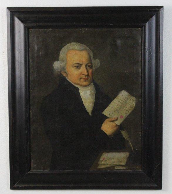 Attributed Francisco Jose de Goya Portait Oil Painting