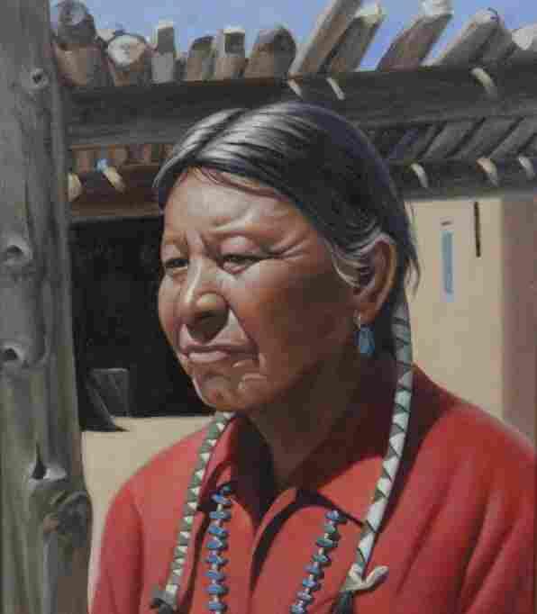 Dwight Roberts Manuel of Taos American Indian Painting