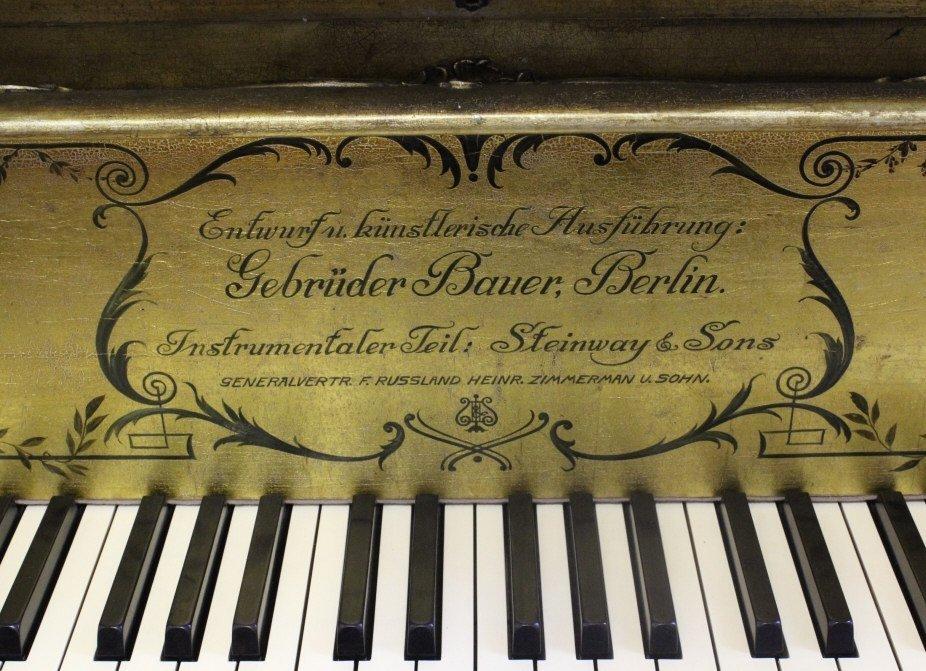 Scenic Decor Antique Steinway Grand Concert Piano D-274 - 4