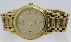 Mens 18k Gold Piaget Automatic Watch 24001 M 501 D 150g