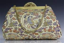 Art Deco Era 18k Gold Diamond CARTIER Bag Handbag Purse