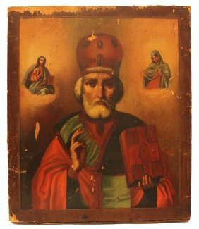 Russian Icon 'st. Nikolay'