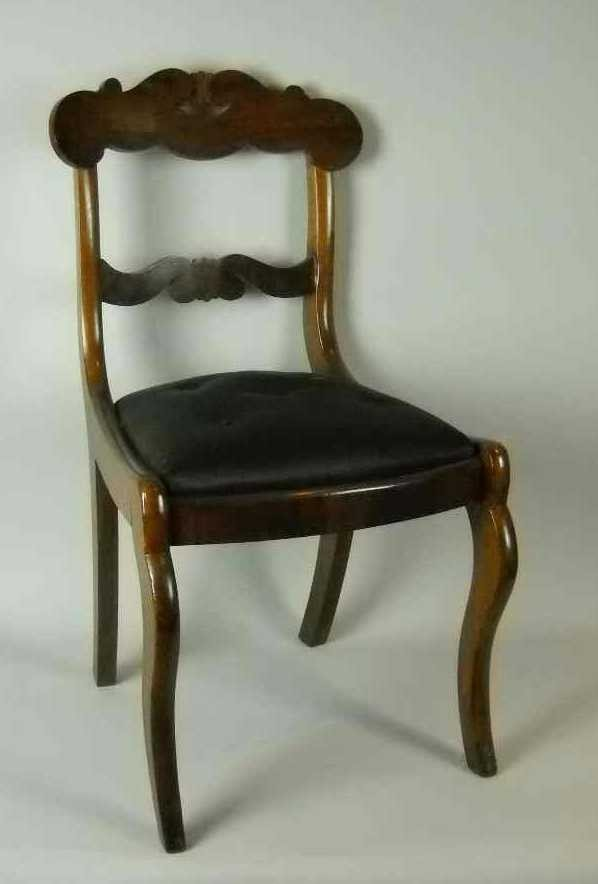 6: CLASSIC EMPIRE SIDE CHAIR: