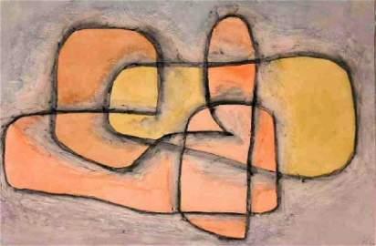 """PAUL KLEE """"GELAGERT"""", 1937:"""