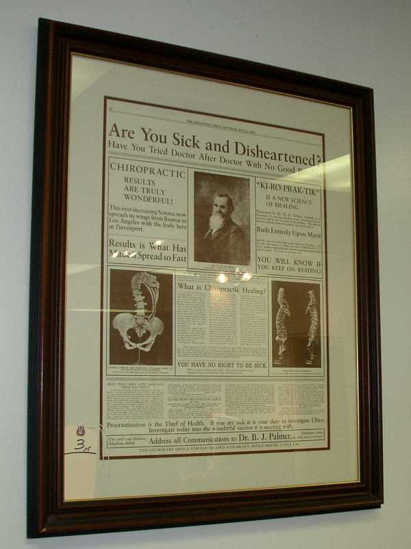3: SEPIA STYLE FRAMED NEWSPAPER PAGES: