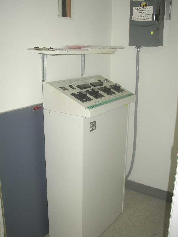 21: YORK X-RAY MACHINE: Linear MC-150, With Techmatic 3 - 3