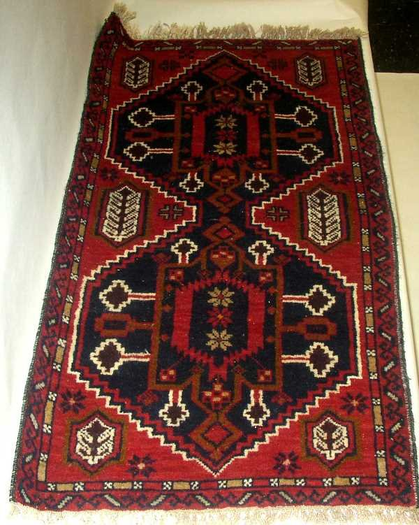 5: ANTIQUE BOKARA ORIENTAL SCATTER RUG