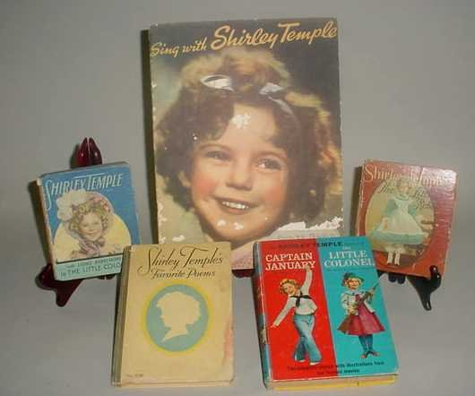19: FOUR SHIRLEY TEMPLE BOOKS