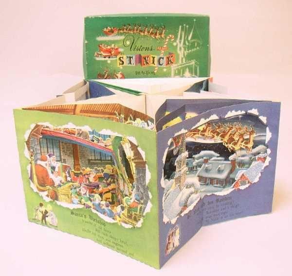 400: VINTAGE CHRISTMAS POP-UP BOOK: C.1950, TitleVision