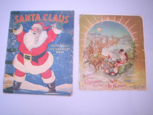 402: PAIR OF CHRISTMAS BOOKS: C.1896 The Night BeforeCh