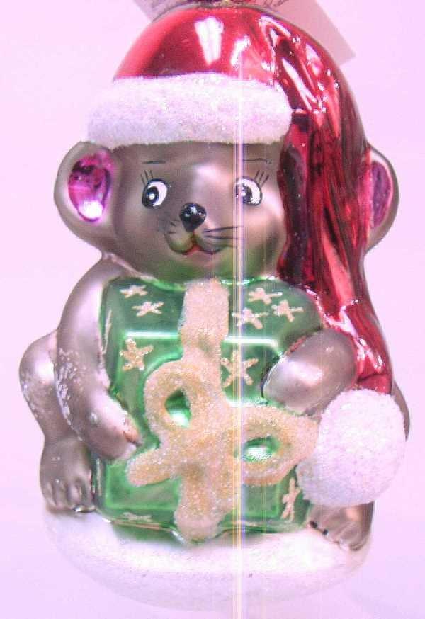 416: CHRISTOPHER RADKO CHRISTMAS ORNAMENT: C.1998,Featu