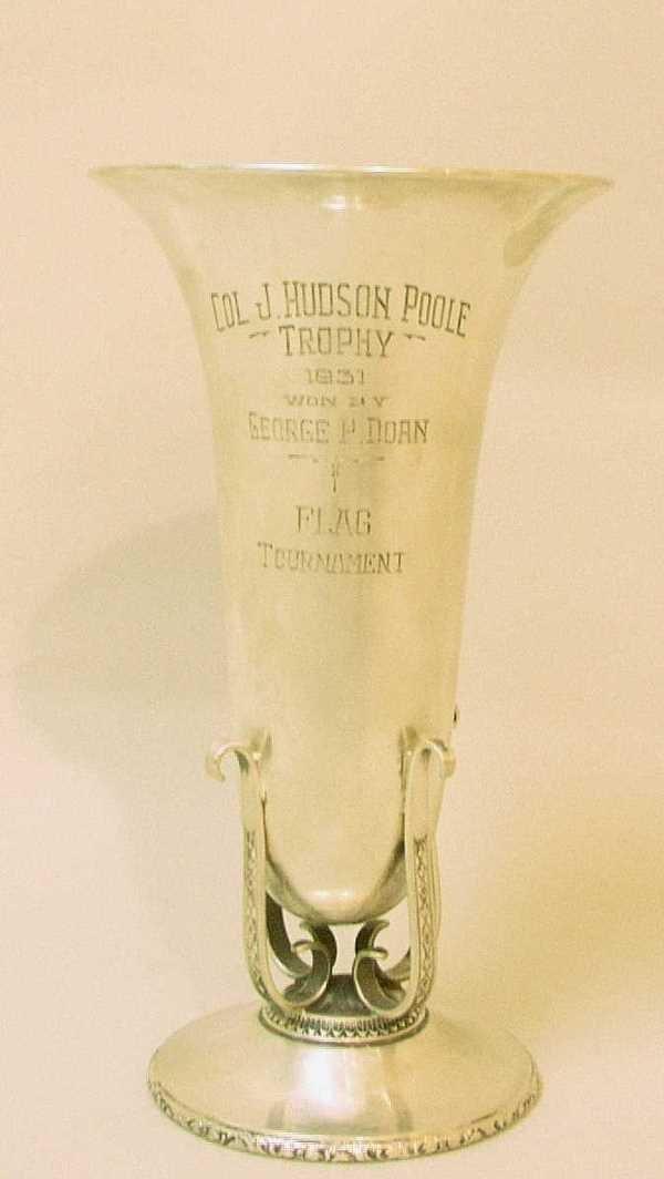 521: STERLING PRESENTATION VASE: C.1930, ByInternationa