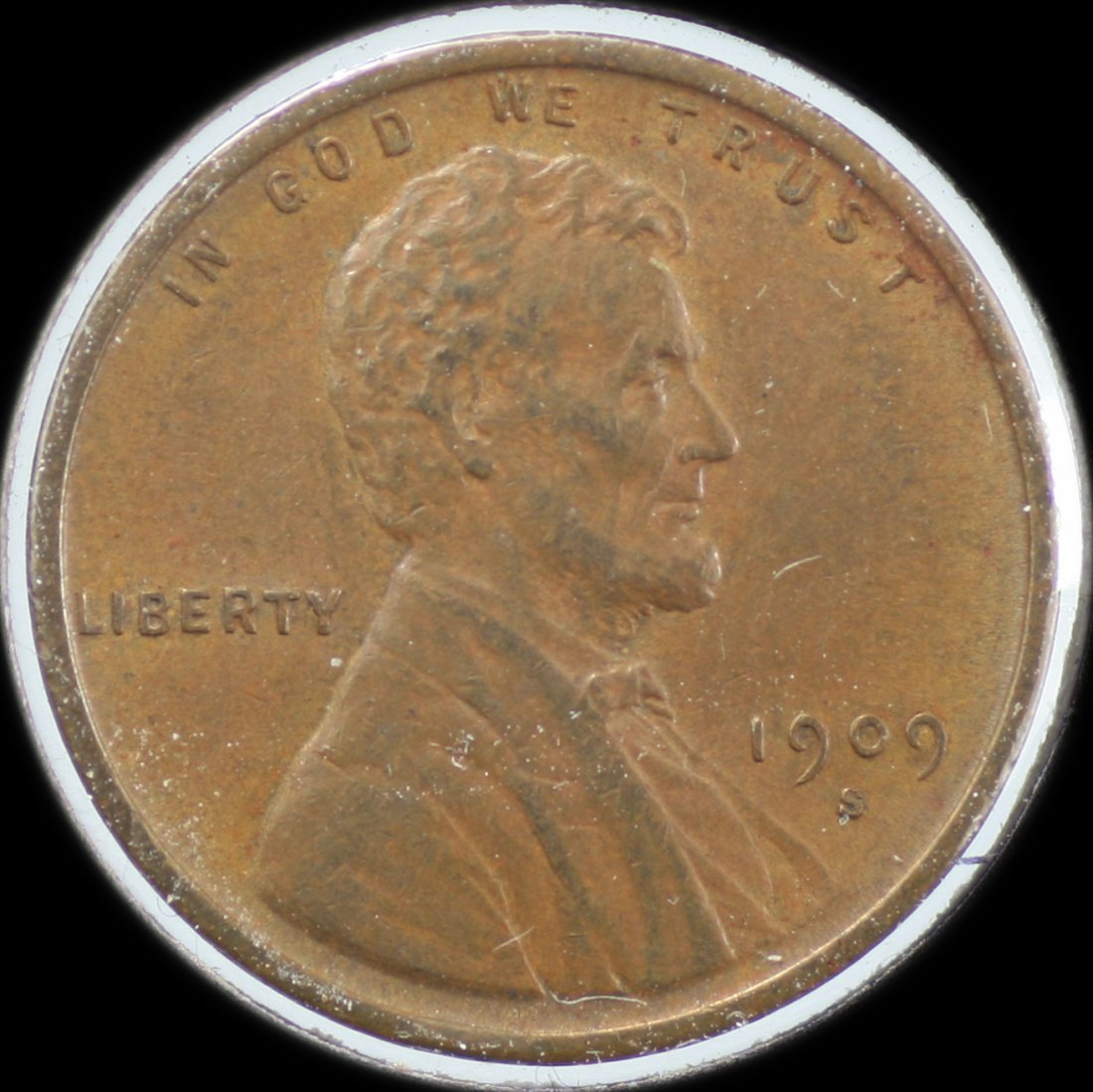 1909 VDB Lincoln One Cent S