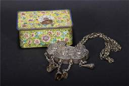 TWO CHINESE ART DECO ITEMS