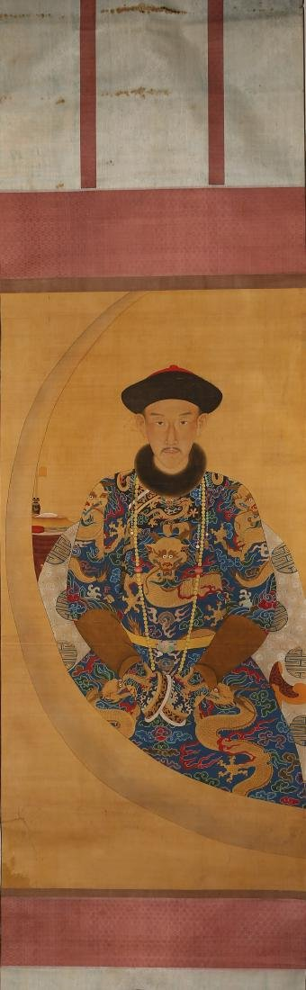 ANONYMOUS: PORTRAIT OF A ROYAL (POSSIBLY LONGSHAN)