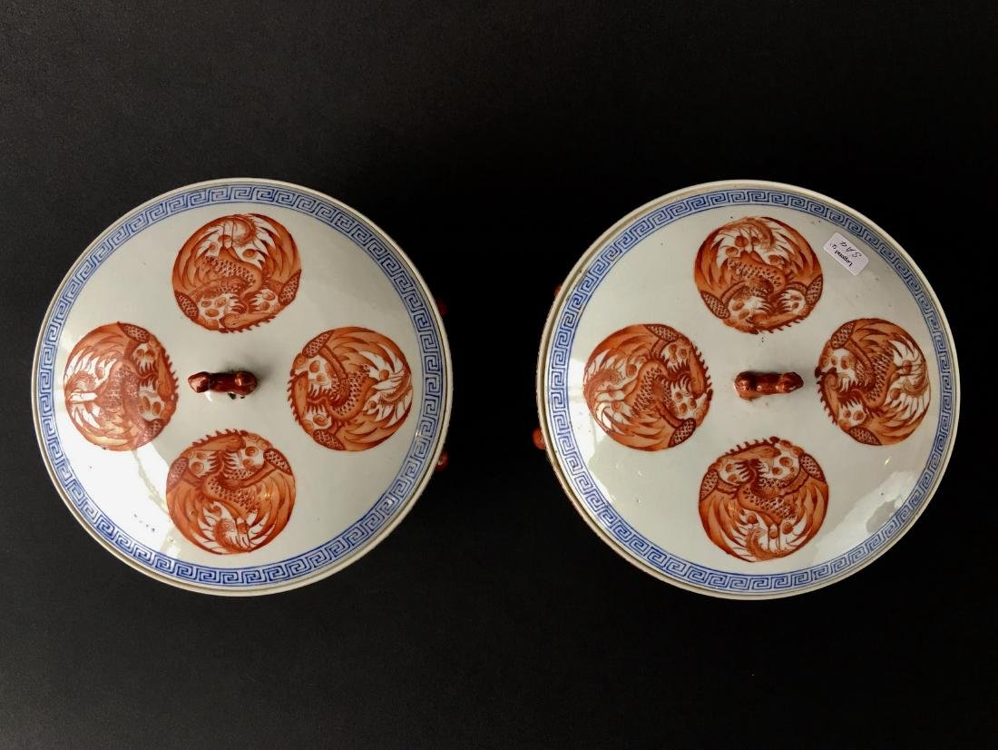 TWO SETS OF CHINESE PORCELAIN WARES - 3