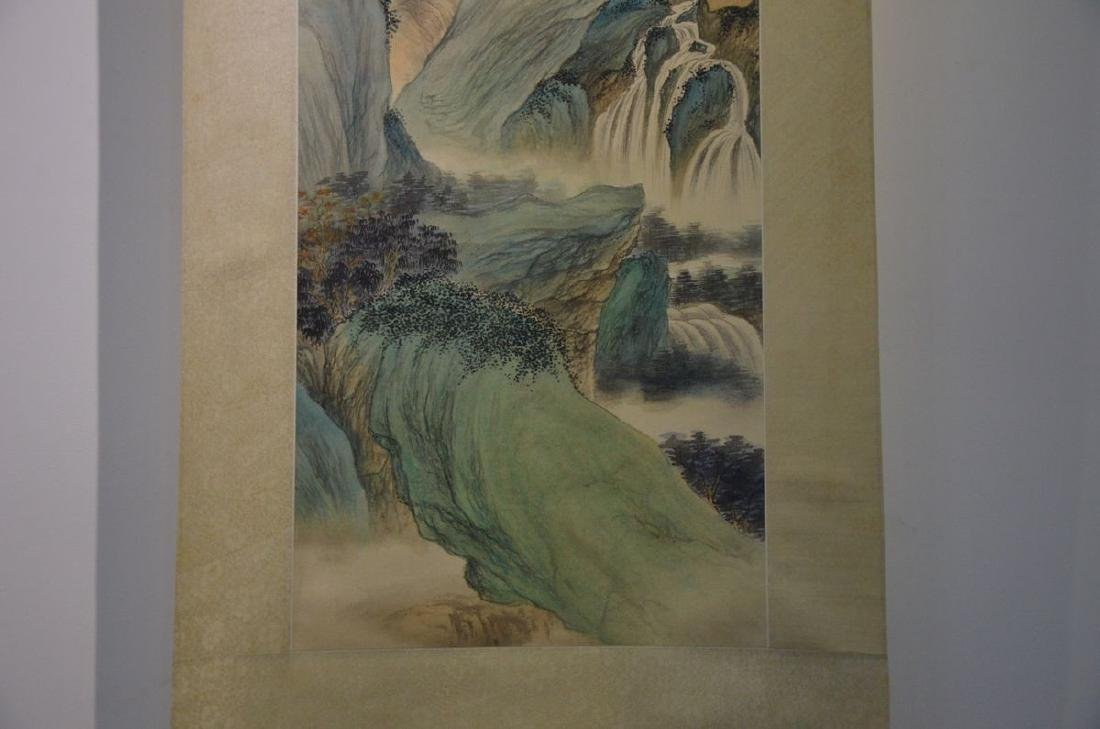 A CHINESE PAINTING: LANDSCAPE - 2