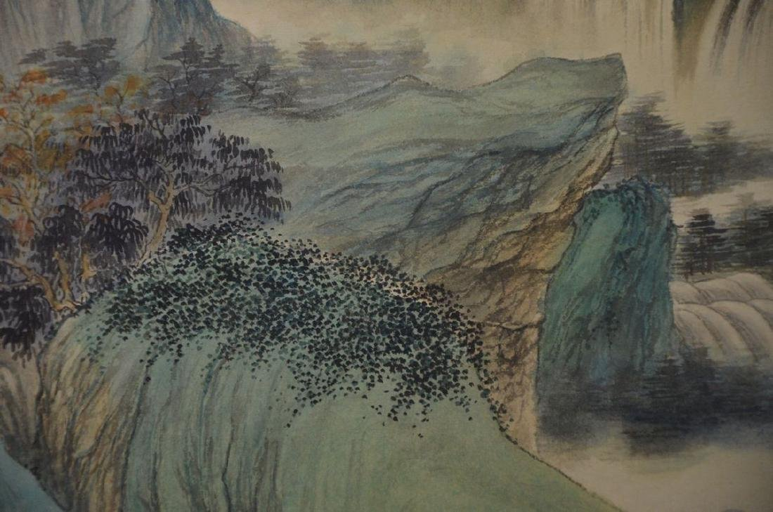 A CHINESE PAINTING: LANDSCAPE - 3