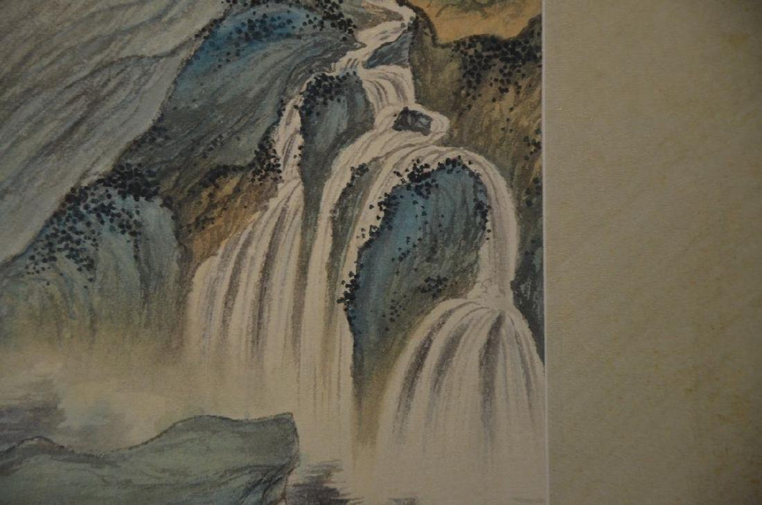 A CHINESE PAINTING: LANDSCAPE - 4