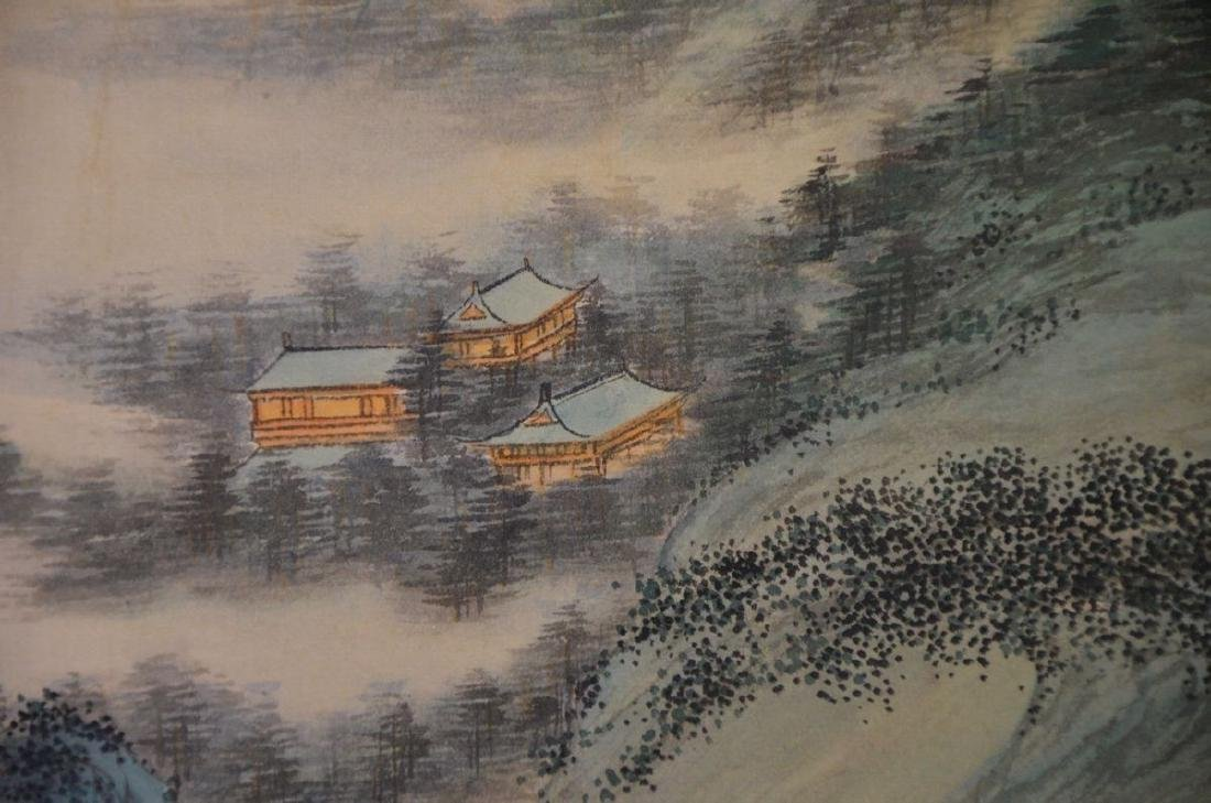 A CHINESE PAINTING: LANDSCAPE - 5
