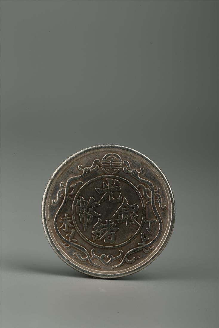 CHINESE SILVER COIN - 3