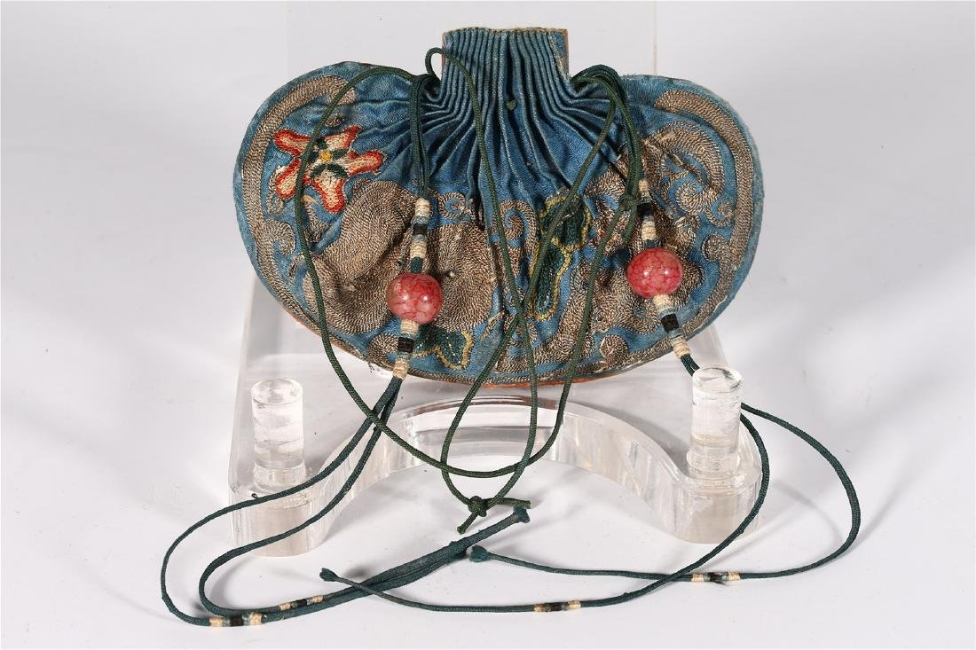 GROUP OF CHINESE SILK ITEMS - 4