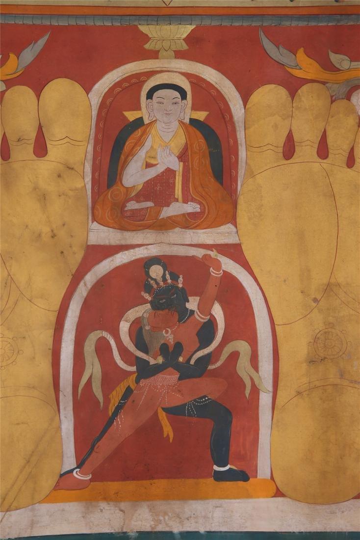 TIBETAN THANGKA OF CHAKRASAMVARA-VAJRAVARAHI - 2