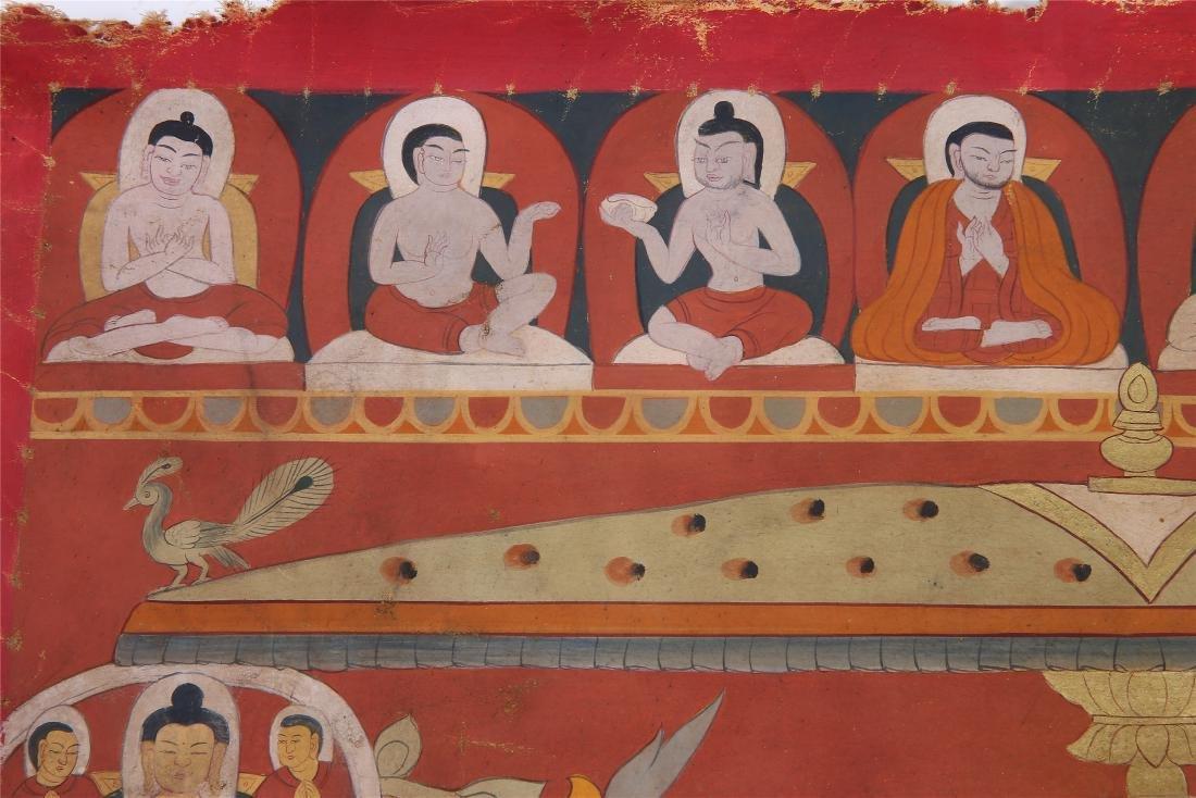 TIBETAN THANGKA OF CHAKRASAMVARA-VAJRAVARAHI - 3