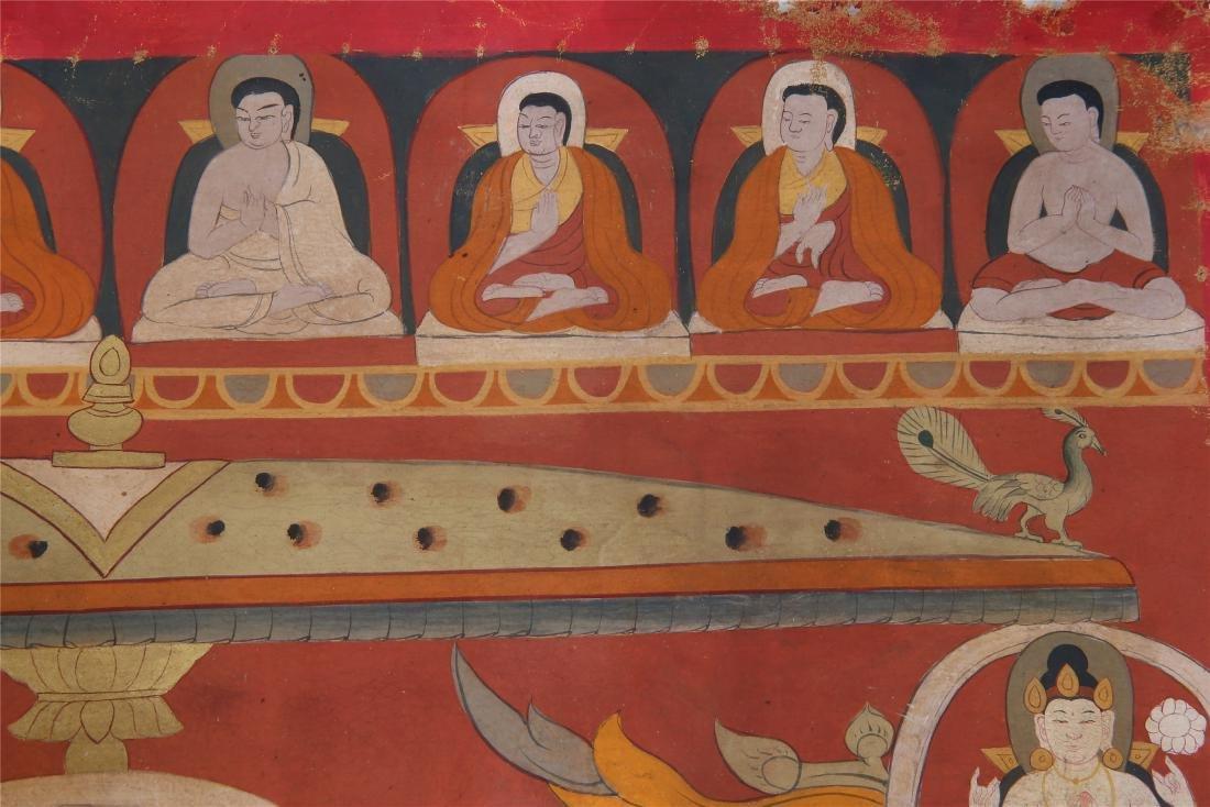 TIBETAN THANGKA OF CHAKRASAMVARA-VAJRAVARAHI - 4