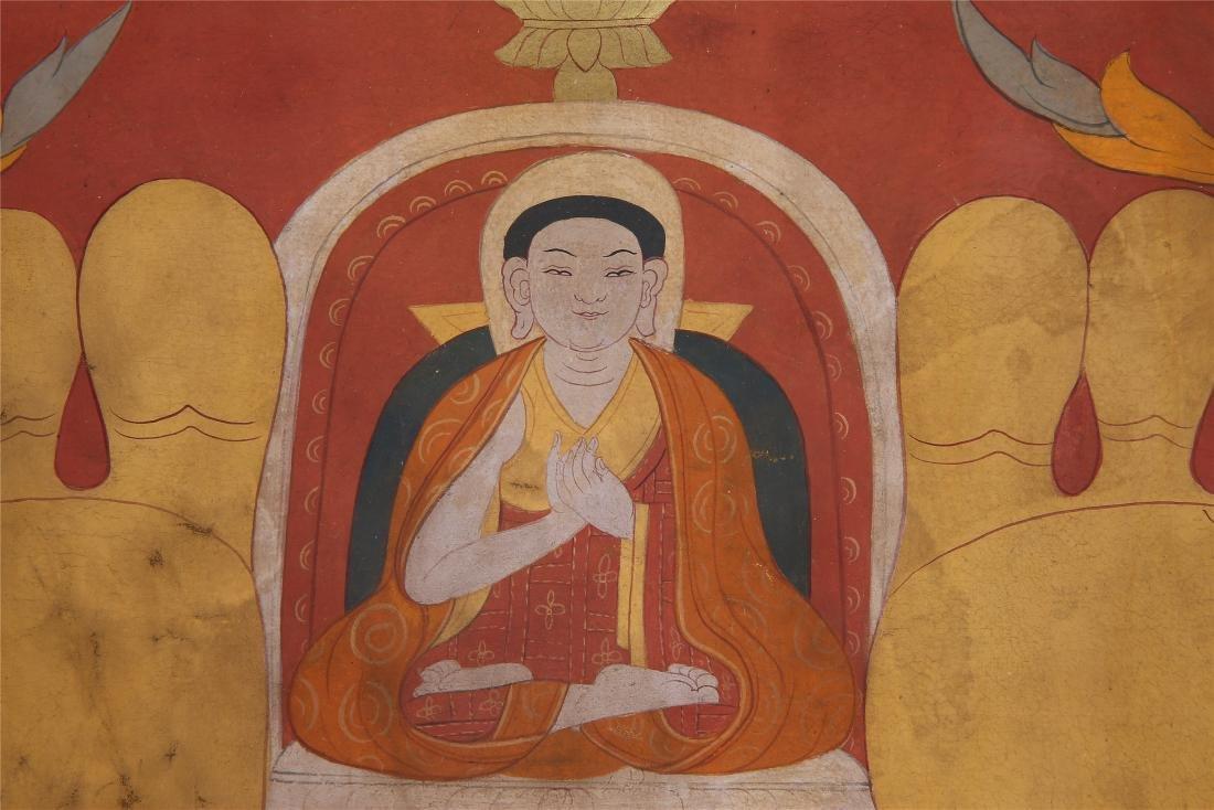 TIBETAN THANGKA OF CHAKRASAMVARA-VAJRAVARAHI - 5