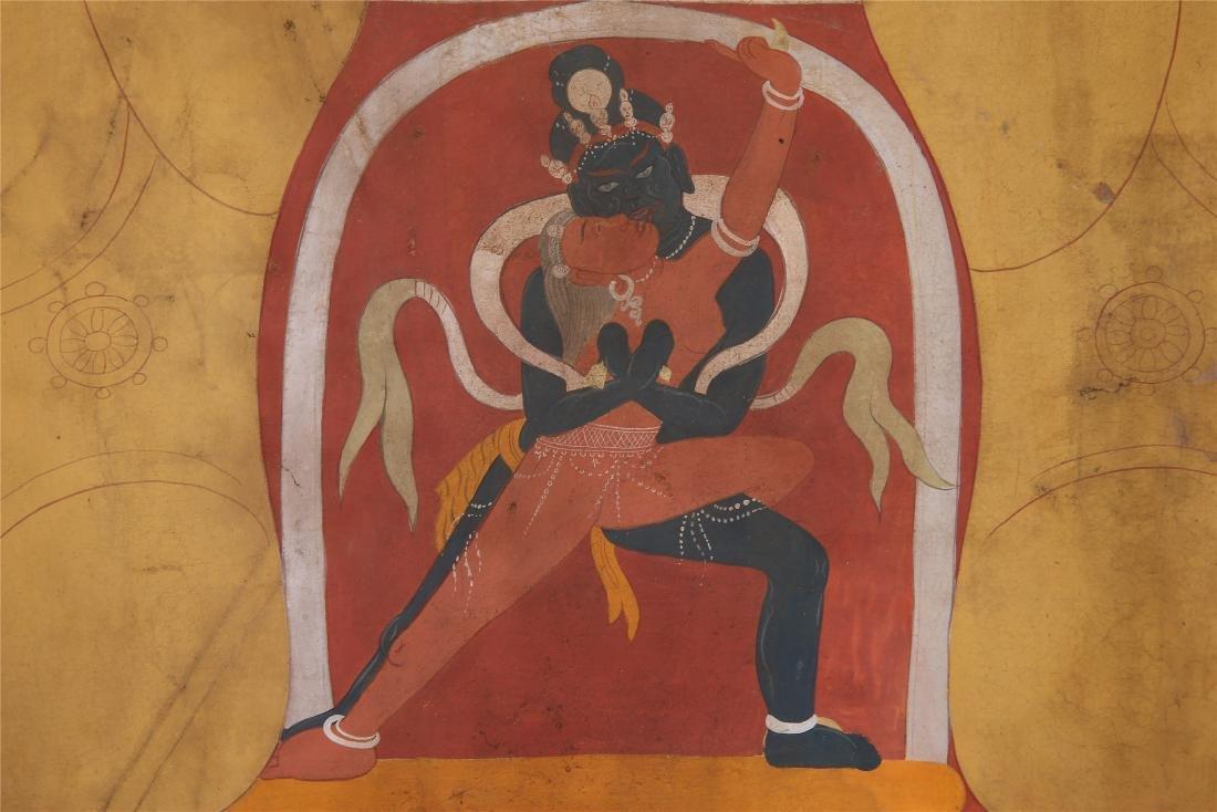 TIBETAN THANGKA OF CHAKRASAMVARA-VAJRAVARAHI - 6