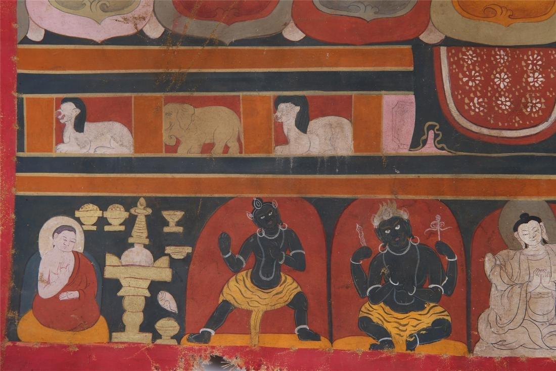 TIBETAN THANGKA OF CHAKRASAMVARA-VAJRAVARAHI - 7