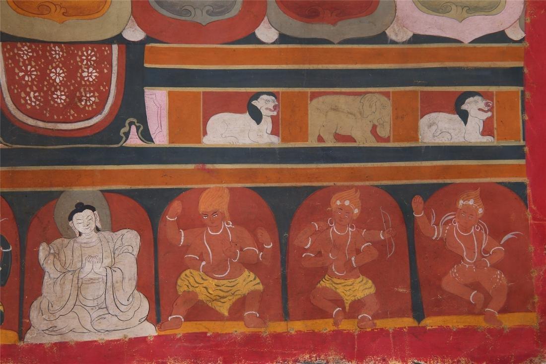 TIBETAN THANGKA OF CHAKRASAMVARA-VAJRAVARAHI - 8