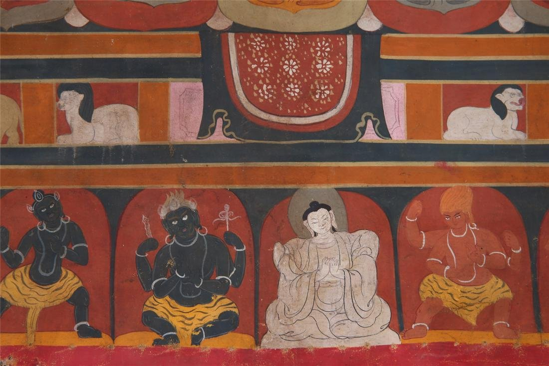 TIBETAN THANGKA OF CHAKRASAMVARA-VAJRAVARAHI - 9