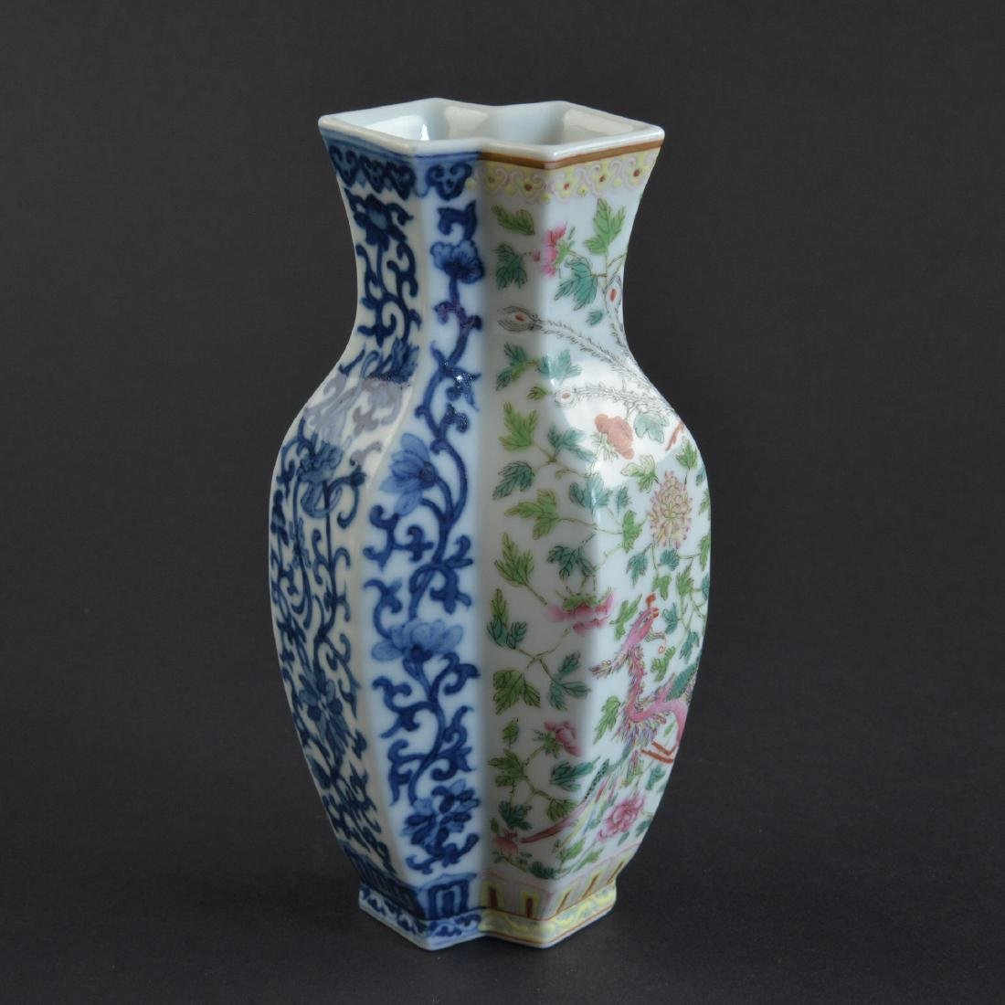 CHINESE BLUE AND WHITE AND FAMILLE ROSE PORCELAIN